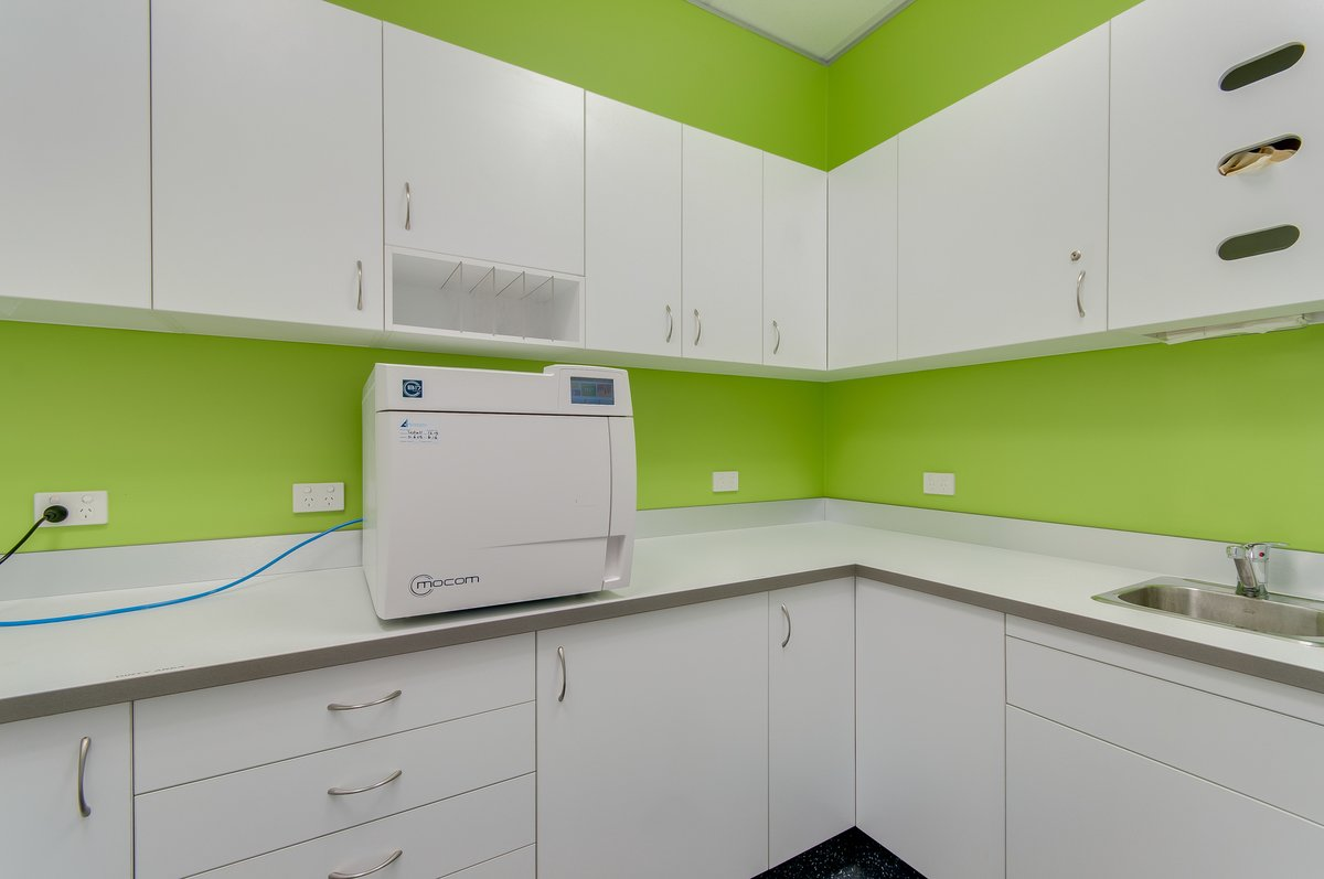 Clover Dental Sterilisation Room